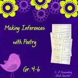 Inference poetry: part 2 Teach inferring through riddle poems