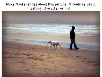 Inference practice with photographs