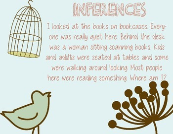 Inference prompts