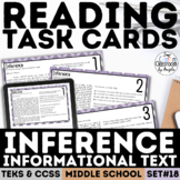 Inference with Informational Text Task Cards