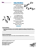 Inference with Poetry Lesson using Something Told the Wild Geese by Rachel Field