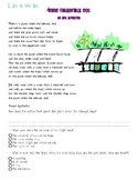 Inference with Poetry Lesson using Where the Sidewalk Ends by Shel Silverstein