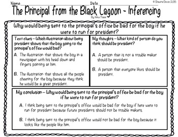 Inference with The Black Lagoon by Mike Thaler