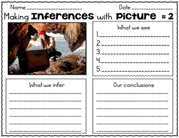 Inference With Pictures