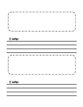 Inference writing prompt