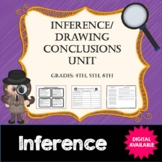 Inference/Drawing Conclusions Unit- Common Core- 4th, 5th, 6th