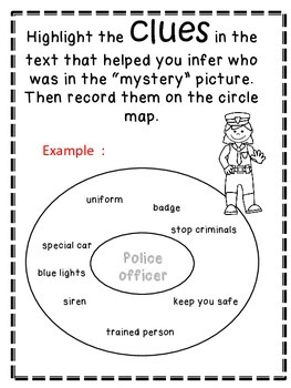 Inferences: Inferencing Reading Strategy Activities