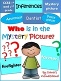 Inferencing Activities: Who is in the Mystery Picture?