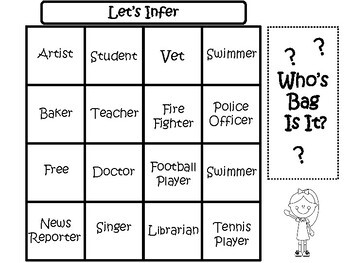 Inferences: A Fun Reading Game