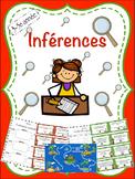 Jeu d'inférences (avec planche) pour 3-5e année - Inferenc