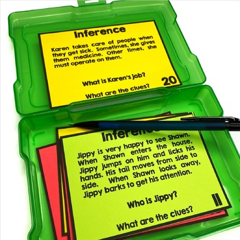 Inferences - task cards
