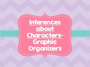 Inferences About Characters Graphic Organizer