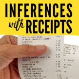 Inferences Activity with Receipts