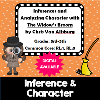 Inferences & Analyze Character- The Widow's Broom- Van All