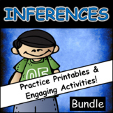 Inferences Games, Activities, and Practice Printables: Bundle