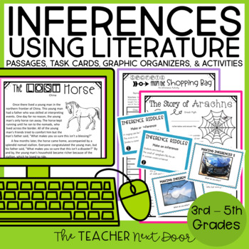 Inferences Bundle  for 4th-5th Grades