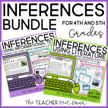 Inferences Bundle for 4th-5th Grades   Inferences