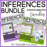Making Inferences Bundle Fiction and Nonfiction for 4th an