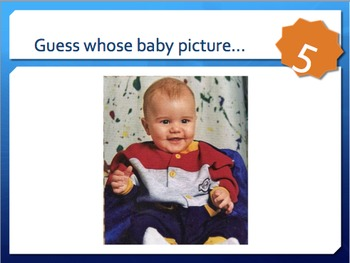 Inferences- Celebrity Baby Picture Game