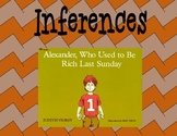 Inferences Common Core with Alexander Who Used to Be Rich