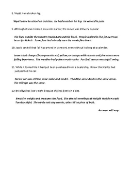 Inferences: Definition, Examples, Worksheet, and Detailed Answer Key