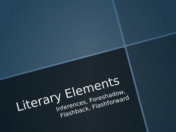 Inferences, Foreshadow, FlashForward
