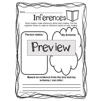 Inferences Freebie