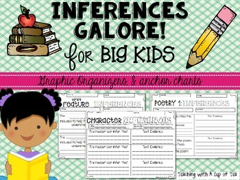 Inferences Galore! for Big Kids (Making Inferences across Genres)
