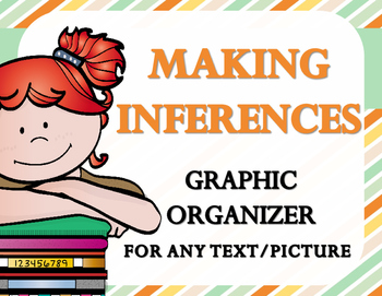 Making Inferences: Text and Picture Graphic Organizer {ANY BOOK}