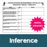 Inferences- In the Year of the Boar and Jackie Robinson by Bette Lord- 4, 5, 6