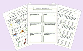 Making Inferences Interactive PowerPoint (with differentiated worksheets)