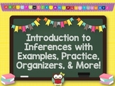 Inferences: Introduction, Pixar Shorts, Songs, Task Cards, Gr.Orgs, and MORE!