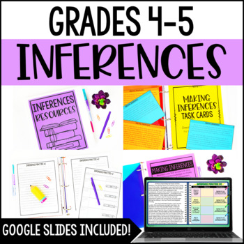 Inferences {Just Print Reading Resources}