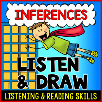 Superhero Inferences Listening Following Directions