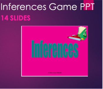 Inferences - Practice in a Short Game PPT