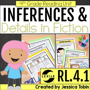 Inferences RL4.1, Making Inferences in Literature Text