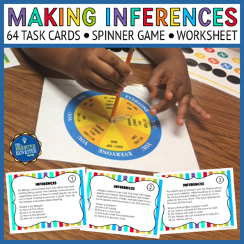 Inferencing Task Cards and Game
