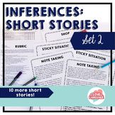 Inferences: Short Stories Set 2--Distance Learning