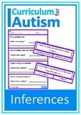Inferences Social Language Skills Autism Literacy Reading