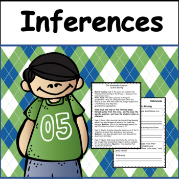 Inferences: Teaching Inferring with Read Alouds( Grades 3-5)