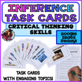 Inference Task cards Reading Comprehension Nonfiction Dist