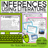 Inferences Using Literature for 3rd - 5th Grades