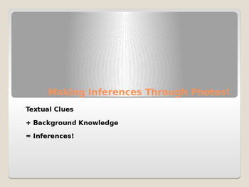 Inferences Using Photos PPT