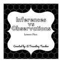Inferences Vs. Observations Lesson Plan