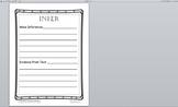Inferences Worksheet