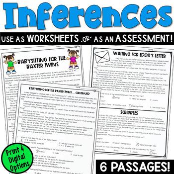 Inferences Worksheets