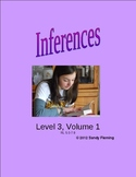 Inferences Worksheets (Level 3, Volume 1)