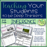 Inferences-Drawing Conclusions-Worksheets, PowerPoint Presentation