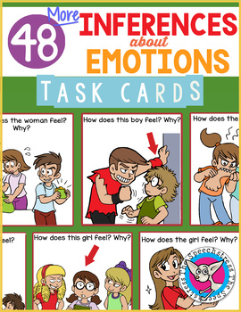 Inferences about Emotions Task Cards 2