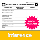 Inferences and Fly Away Home by Eve Bunting- Common Core-